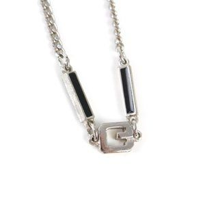 Givenchy Jewelry - Givenchy Rare Vintage Silver Necklace